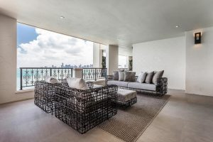 Portfolio | Fisher Island - Balcony