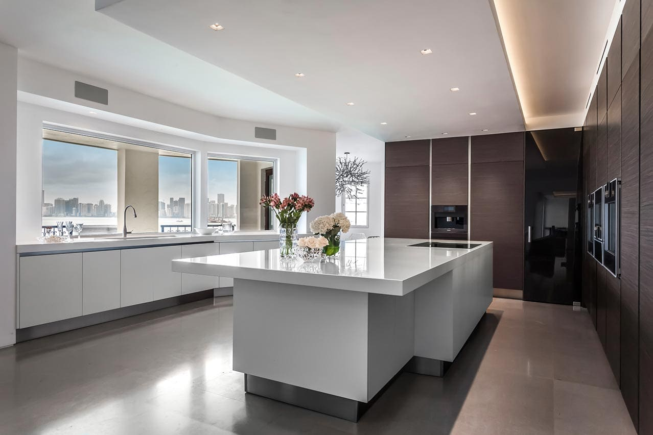 Portfolio | Fisher Island - Kitchen