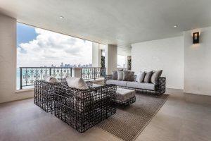 Portfolio   Fisher Island - Balcony