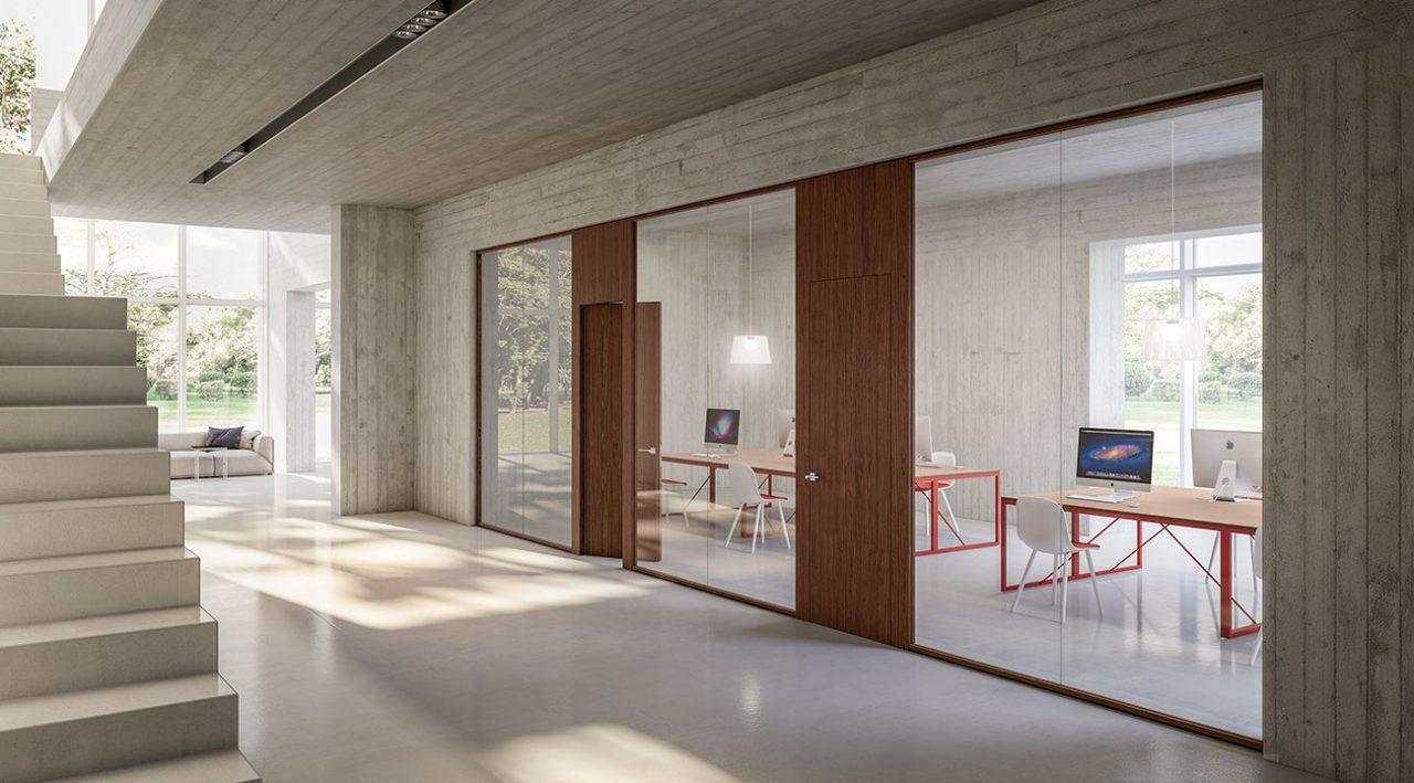 Architectural Glass Partitions - ARMAZEM.DESIGN